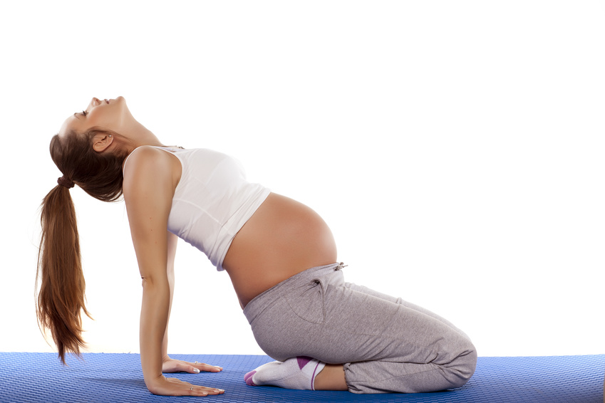 Cours de yoga prénatal en avril