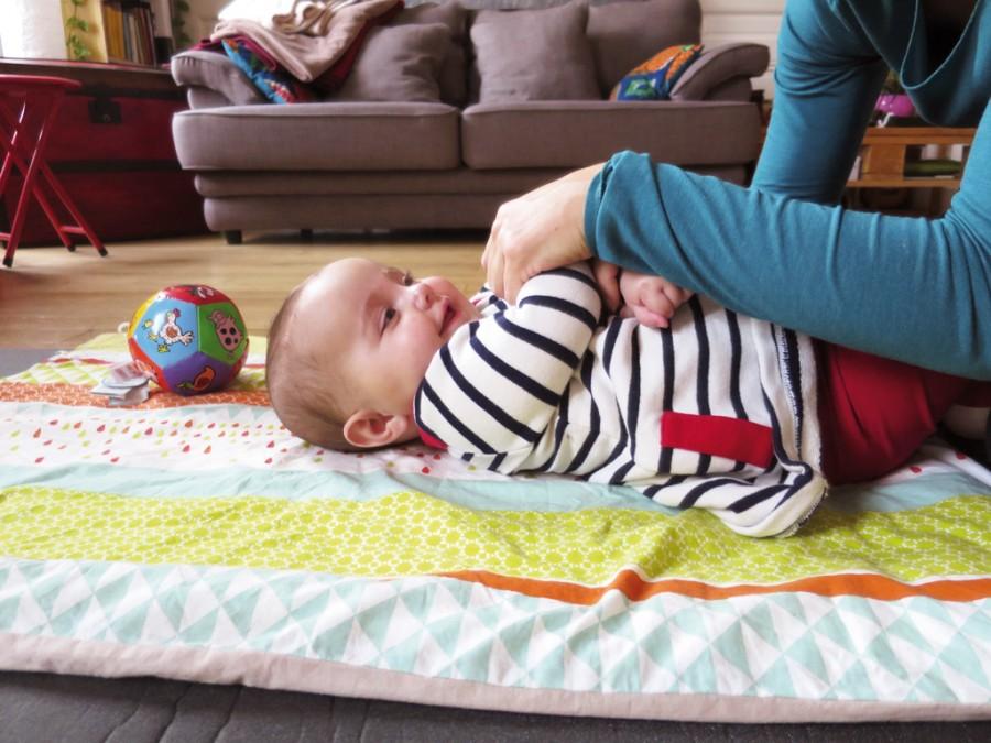 Du yoga doux pour mon bébé