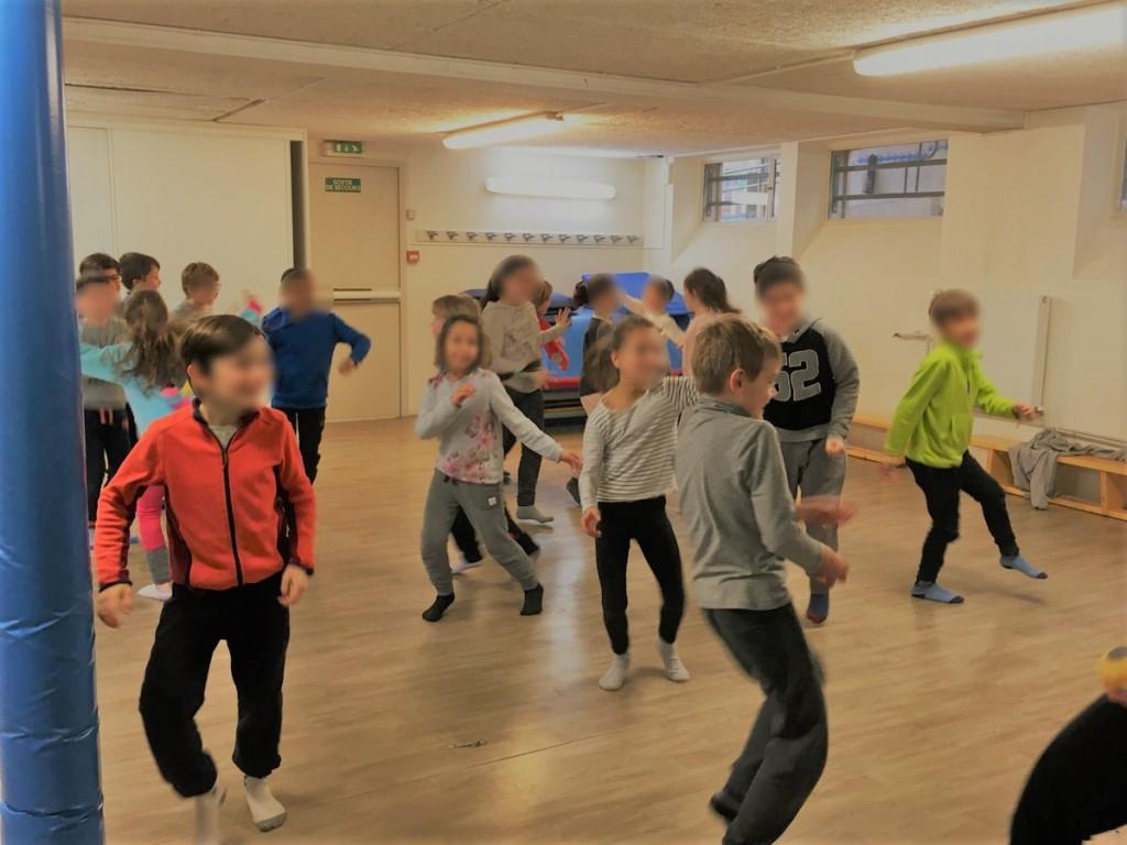 Danse yoga enfants