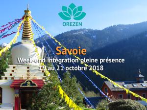 Week-end intégration Orezen à Karma Ling