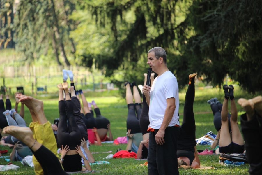 Message de Luc Nermel, professeur de yoga