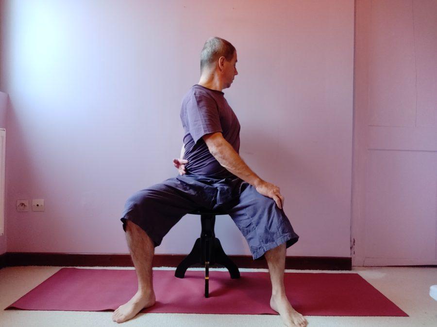 Télétravail. Les conseils d'un prof de yoga. Article du Progrès de Lyon. Janvier 2021