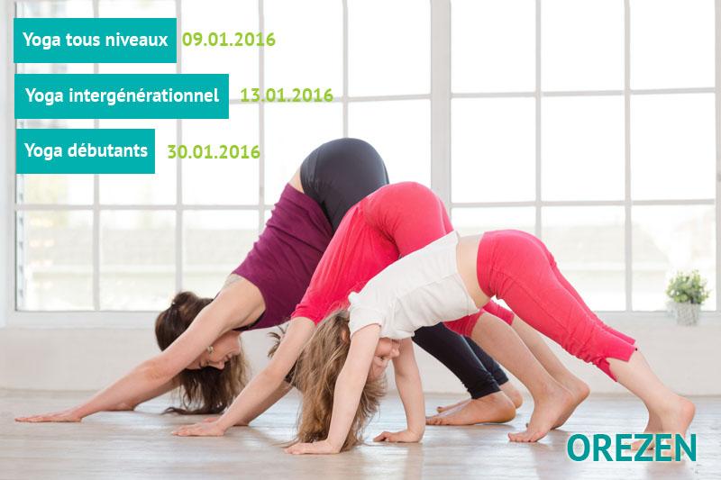 Yoga en janvier