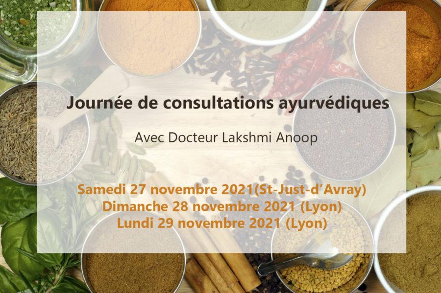 Consultation ayurvédique avec le Docteur Lakshmi Anoop de la clinique et du centre de recherche Chakrapani